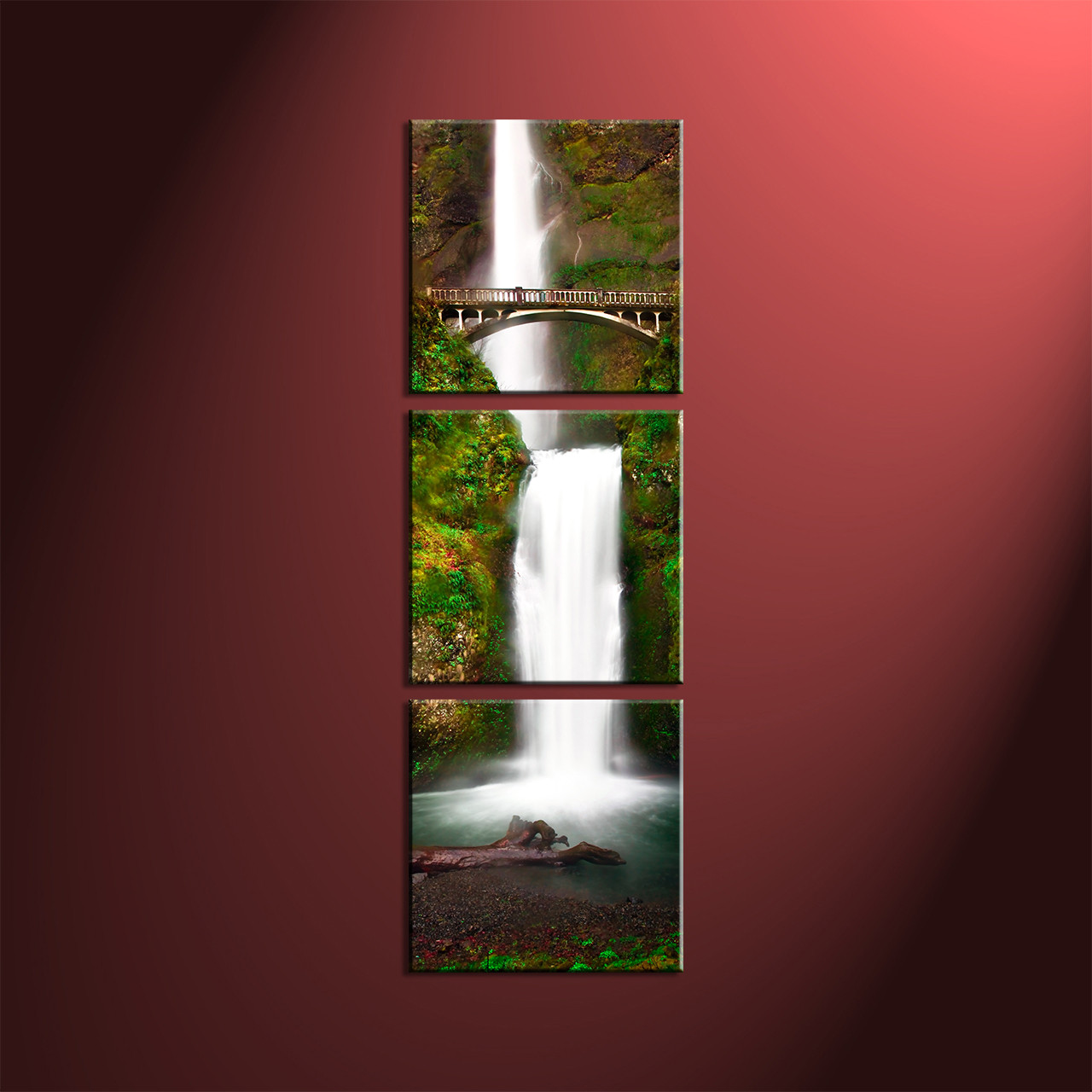 Fair 20 vertical wall art design decoration of vertical for Nature decor