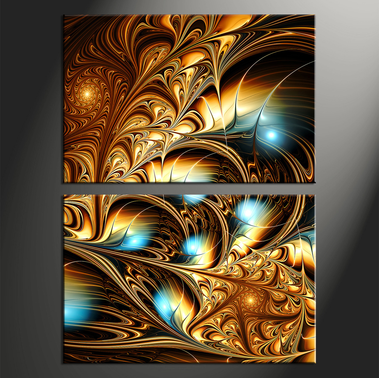 Superior Abstract Huge Canvas Art, Home Decor,2 Piece Canvas Art Prints, Abstract  Artwork
