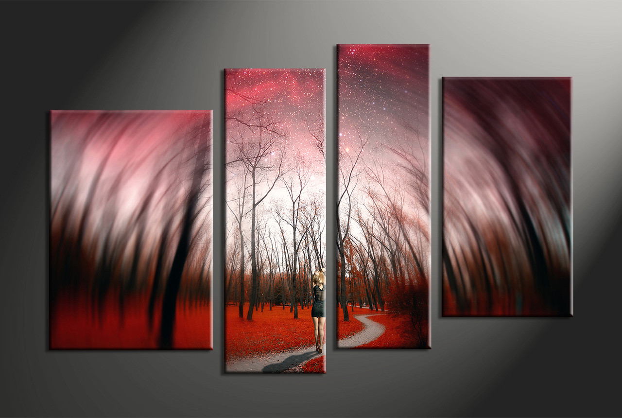 home decor4 piece canvas art prints nature canvas print landscape canvas print