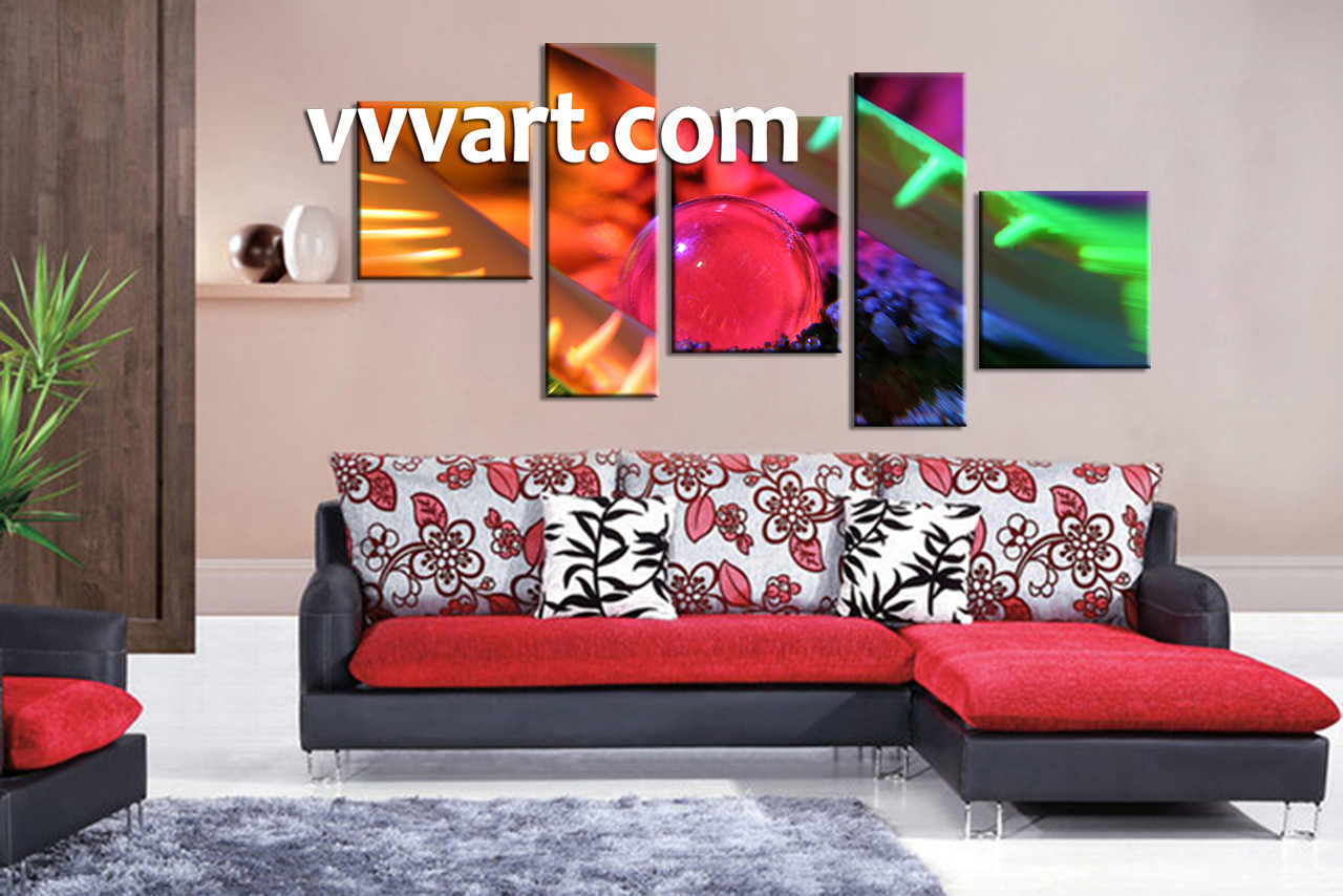 piece colorful modern multi panel canvas - living room art  piece canvas wall art abstract multi panel canvasabstract