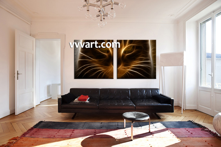 Living room wall art 2 piece canvas wall art abstract canvas photography abstract