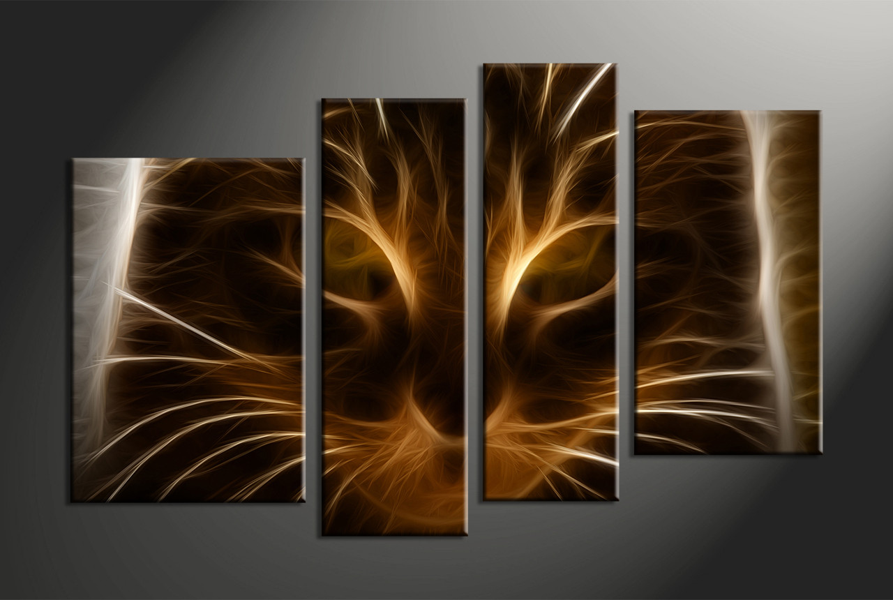 Abstract wall decorations - Home Wall Decor 4 Piece Canvas Art Prints Abstract Wall Art Abstract Abstract