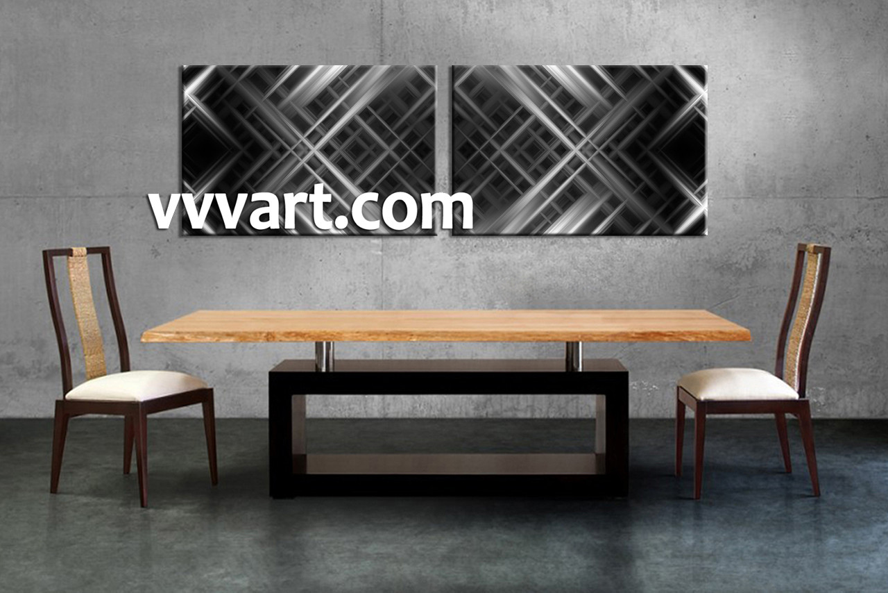 2 piece grey canvas abstract wall decor dining room art 2 piece canvas art prints abstract canvas print abstract art amipublicfo Image collections