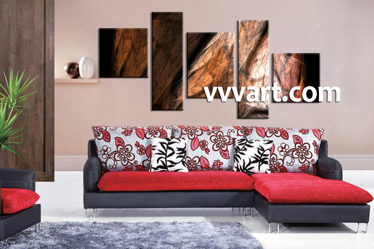 abstract wall art for living room - shenra