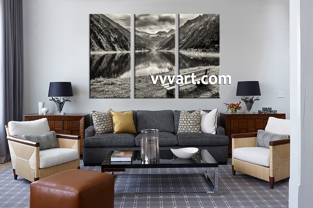 black and white living room wall art. black and white living room