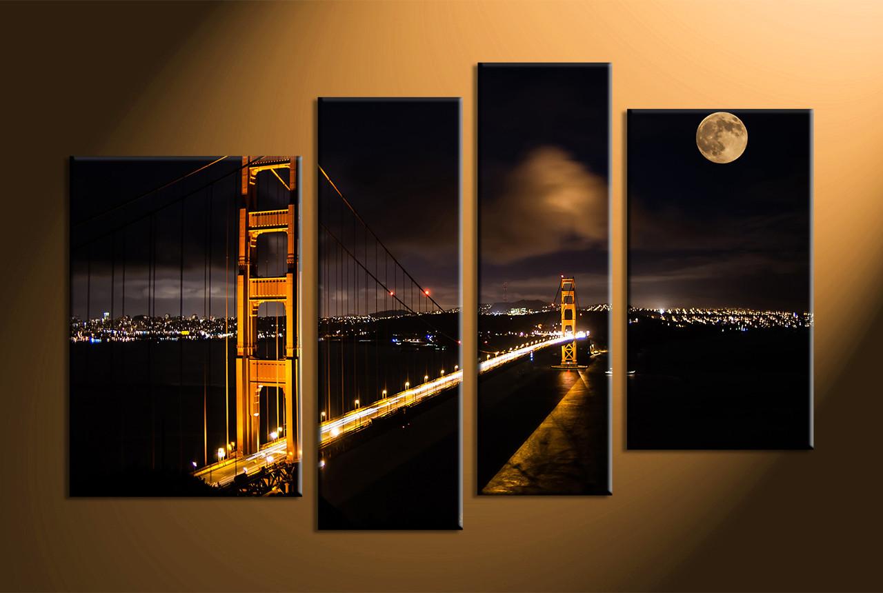 Wall Art Photography 4 piece canvas wall art