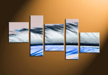 Modern Canvas Wall Art 5 piece brown canvas modern wall art