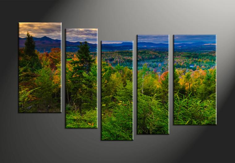 Home décor 5 piece canvas art prints landscape art scenery canvas print