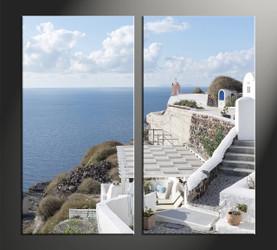 home decor, 2 piece canvas art prints, house canvas art prints, ocean huge canvas art, scenery pictures