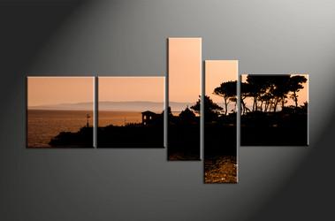 Home Wall Decor, 5 piece canvas art prints, landscape canvas print, landscape canvas photography, landscape art