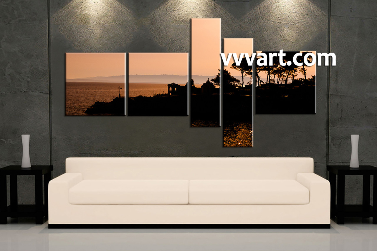 Big Panel Canvas For Living Room