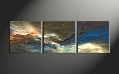 Home Wall Decor, 3 piece canvas art prints, abstract large pictures, abstract group canvas, abstract canvas wall art