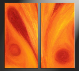 Home Decor, 2 piece canvas wall art, abstract art, abstract photo canvas, abstract décor