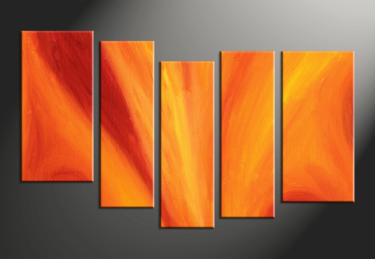 home decor 5 piece canvas wall art abstract photo canvas abstract multi panel