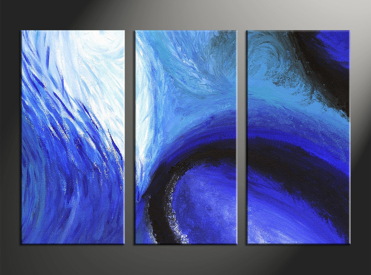 Home decor 3 piece canvas wall art abstract large pictures abstract pictures