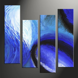 Home Wall Decor, 4 piece canvas wall art, abstract canvas wall art, abstract multi panel canvas, abstract pictures
