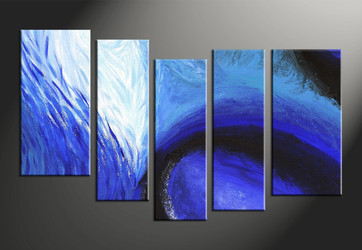 home decor, 5 Piece Wall Art, abstract large canvas, abstract large pictures, abstract art