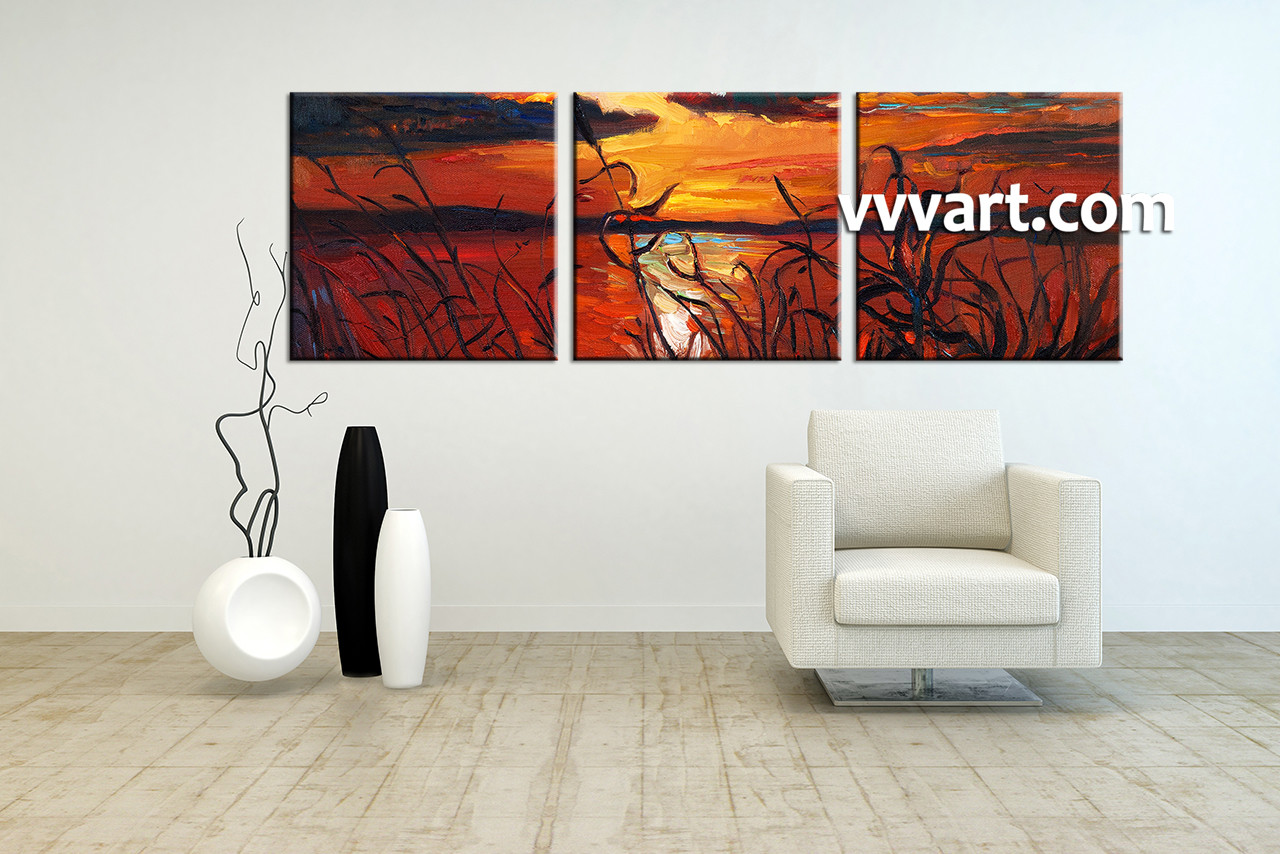 100 online get cheap 3 piece canvas wall art pier aliexpres