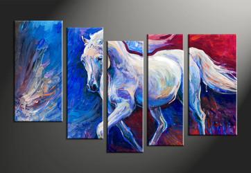 home decor, 5 piece canvas arts, animal canvas arts, wildlife huge canvas art, scenery group canvas