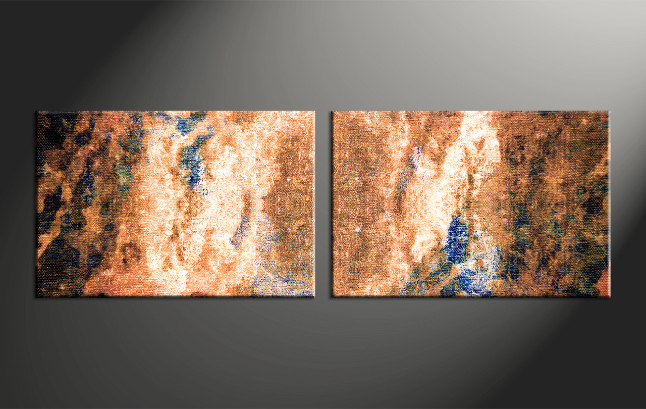 piece brown abstract oil paintings large pictures - home decor  piece canvas wall art abstract large canvas  oil art