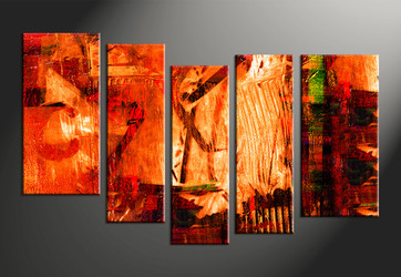 home decor, 5 piece canvas arts, oil canvas arts, Abstract huge canvas art, Abstract wall art
