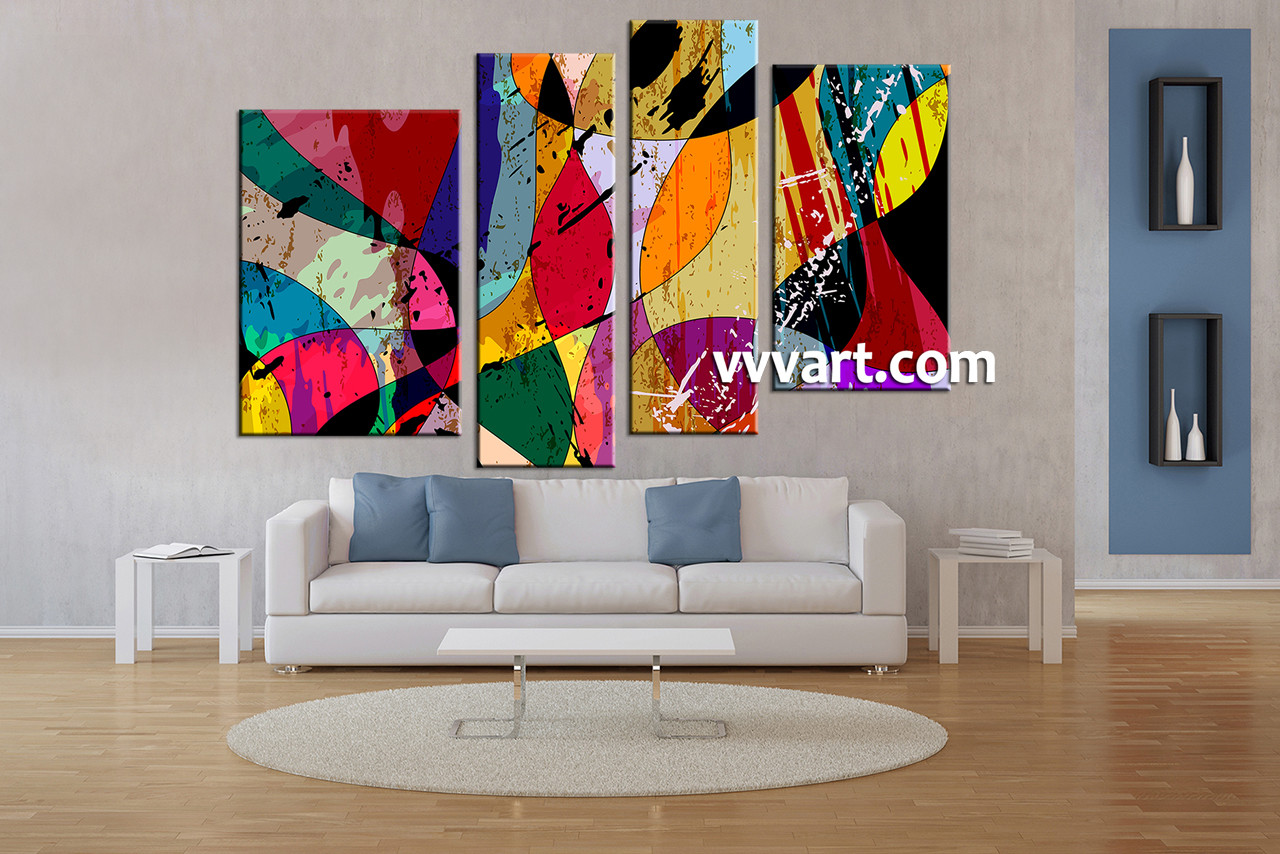 prints wall canvas art modern for panels decor abstract dp amazon decorations perfect paintings giclee home framed com