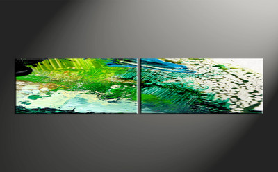 home decor, 2 piece artwork, abstract photo canvas, abstract huge canvas art ,