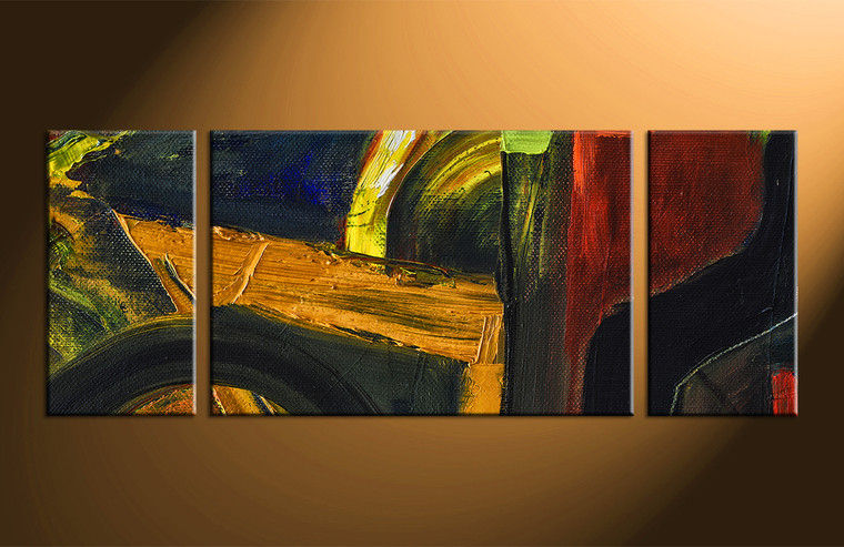 piece colorful wall decor abstract oil paintings artwork