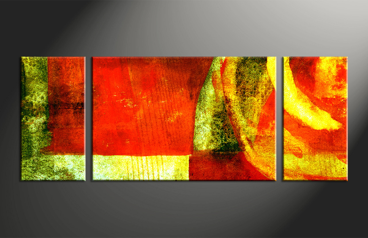 3pieces Modern Abstract Huge Wall Art Oil Painting On: 3 Piece Home Decor Colorful Abstract Huge Canvas Art