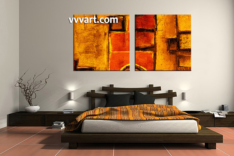 2 Piece Canvas Art Print, Bedroom Wall Art, Abstract Canvas Photography,  Abstract Artwork
