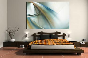 1 piece canvas wall art, bedroom art print, modern large canvas, modern multi panel canvas, modern art