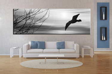 1 piece large pictures, living room multi panel art,wildlife photo canvas, wildlife artwork