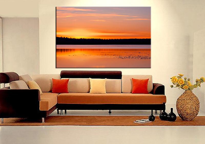 1 Piece Huge Pictures, Living Room Multi Panel Canvas, Ocean Canvas Art  Prints, Part 87
