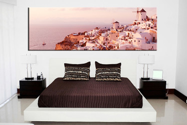 1 piece canvas wall art, bedroom white city artwork, city pictures, city canvas print, city artwork