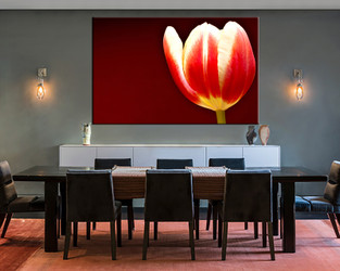 1 piece large canvas, dining room artwork, floral canvas wall art, floral group canvas, floral photo canvas