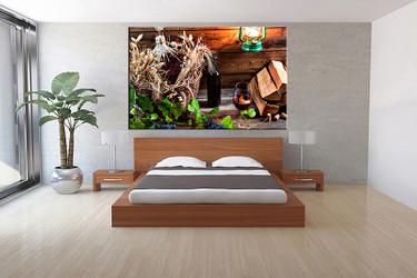 1 piece canvas wall art, bedroom Wine artwork, Wine pictures, lamp canvas print, Wine artwork