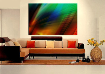 Living Room Art, 1 Piece Canvas Wall Art, Modern Decor, Modern Artwork,