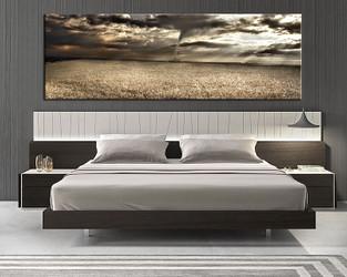 1 piece canvas art print, bedroom art, scenery multi panel art, scenery huge pictures