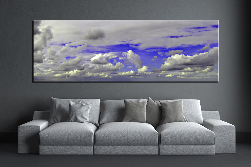 1 Piece Wall Art Living Room Large Canvas Abstract Huge Pictures Multi