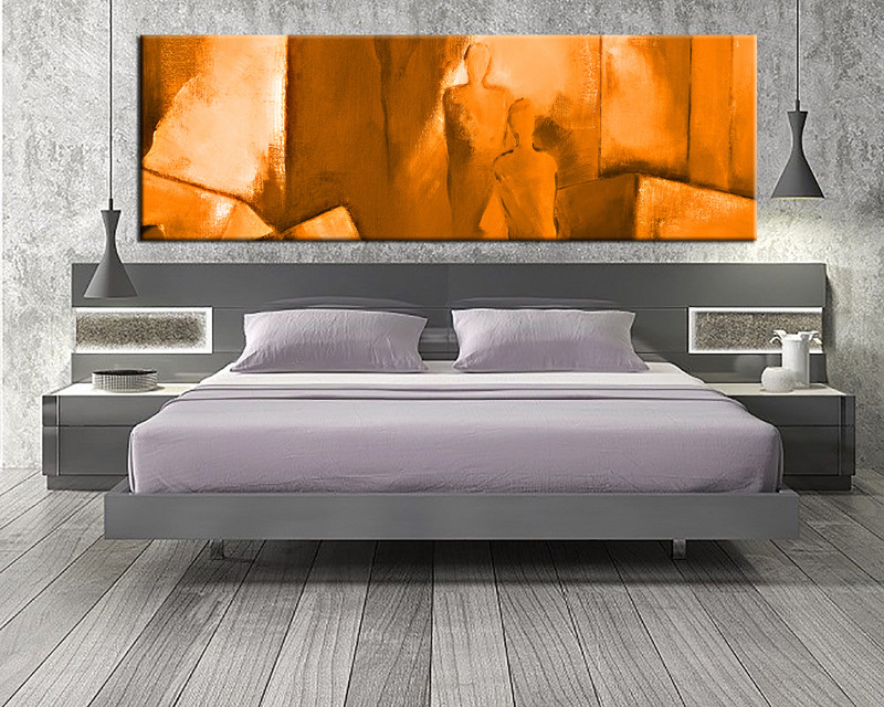 Bedroom Decor, 1 Piece Wall Art, Abstract Pictures, Abstract Art, Abstract  Large