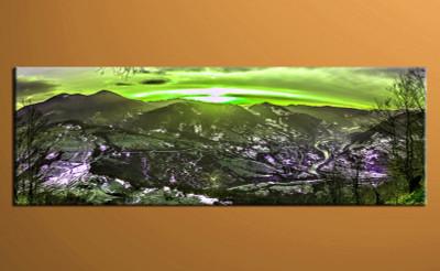 home decor art, 1 piece canvas art prints, landscape canvas print, landscape green group canvas, landscape pictures