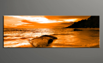 1 piece canvas wall art, ocean pictures, home decor, ocean wall art