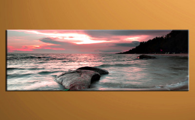 1 piece canvas print, home decor artwork, ocean photo canvas, ocean canvas photography, ocean art