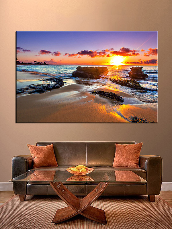 large canvas wall art clearance artwork uk piece sunrise landscape photo living room oversized for sale