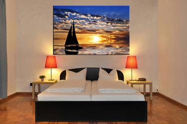 1 piece canvas art print, bedroom art, ocean multi panel art, ocean huge pictures, ocean artwork