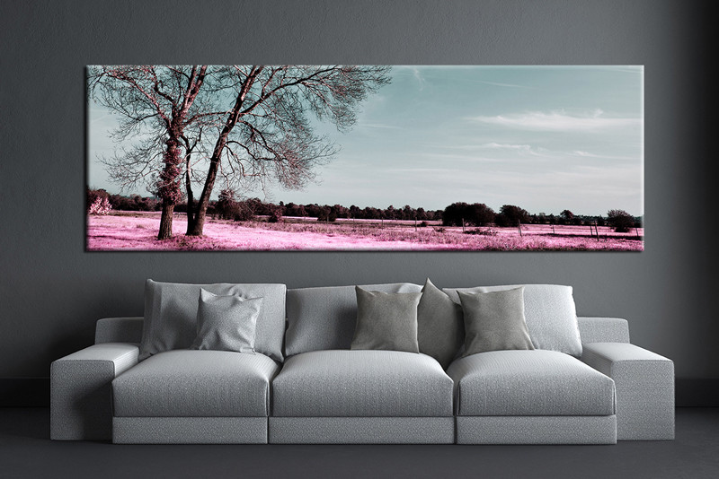 1 piece grey artwork scenery canvas print Canvas prints for living room