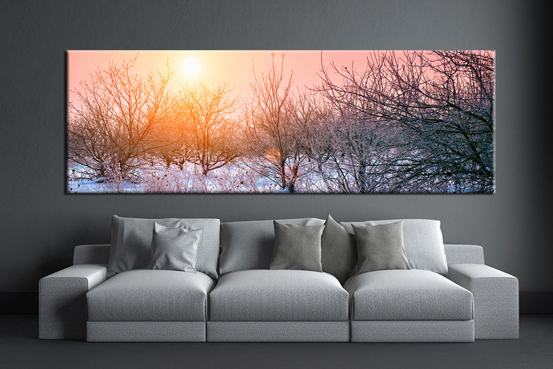 1 piece canvas wall art scenery artwork scenery wall art scenery orange pictures & 1 Piece Orange Wall Art Scenery Canvas Print
