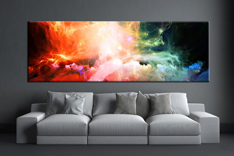 abstract wall art for living room. 1 piece canvas wall art  abstract artwork pictures Piece Colorful Abstract Canvas Photography