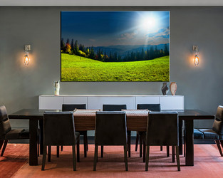 1 piece large canvas, dining room canvas wall art, scenery  artwork, scenery huge pictures, scenery art