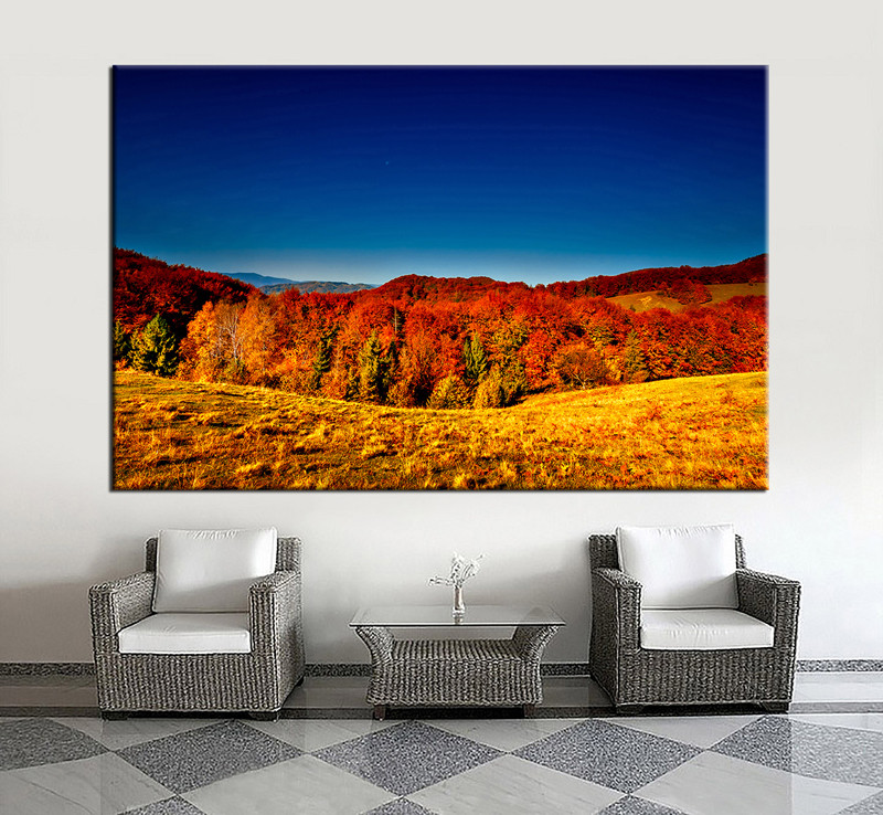 1 Piece Large Pictures Living Room Canvas Photography Scenery Multi Panel Art